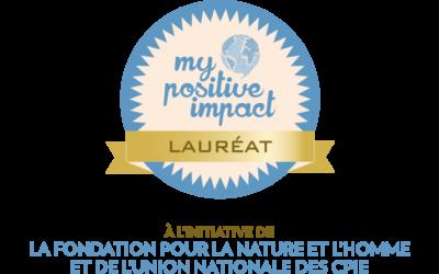 Retours en images sur la cérémonie de remise des Trophées My Positive Impact